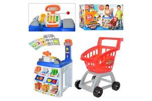 Игровой набор магазин-супермаркет с тележкой 31621
