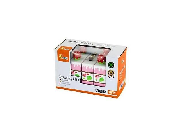 Игровой набор Viga Toys Клубничный торт (51324)- объявление о продаже  в Харькове