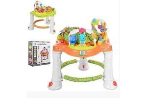 Игровой центр ходунки для ребенка 63567 (1606070) с игровым столиком и звуковыми эффектами (2 вида)