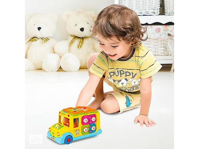 купить бу Игрушка Hola Toys Школьный автобус (796) в Киеве