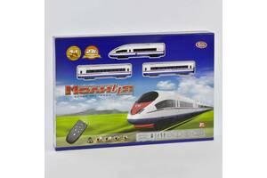 Железная дорога р/у, с музыкальными и световыми эффектами, на батарейках SKL11-221434
