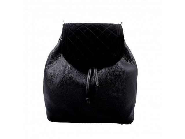 продам Женская сумка-рюкзак Valenta ВЕ618881 кожаная черная 9 л бу в Киеве
