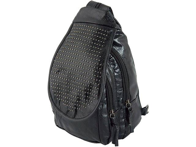 Женский рюкзак из эко кожи Traum 7021-50черный 6 л- объявление о продаже  в Киеве