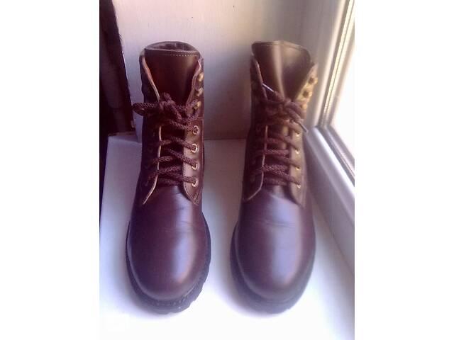 Зимние кожаные ботинки, г.- 37& quot; Мальвы& quot;- объявление о продаже   в Украине