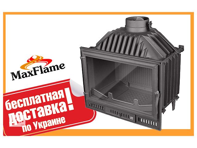 купить бу Чугунная каминная топка Nordflam Arona 14кВт +бесплатная доставка! в Львове
