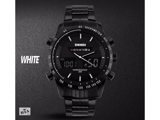 Браслет циферблат для часов SKMEI 1131 стальной черный- объявление о продаже  в Кривом Роге