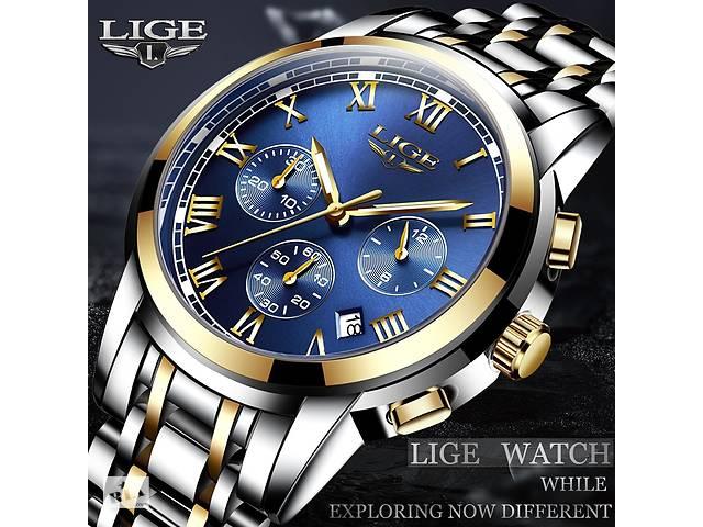бу Часы мужские  LIGE в Кривом Роге