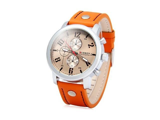Годинники наручні чоловічі CURREN 8192 Orange M83 - Годинники в ... cab9fe635a9a0