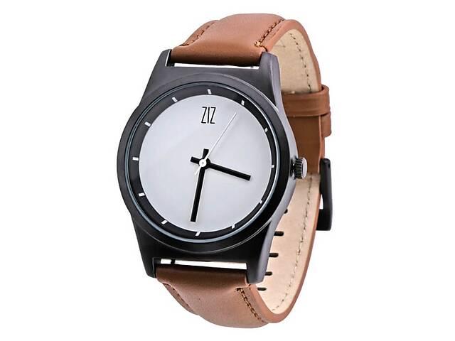 бу Часы Ziz White в подарочной коробке на кожаном ремешке и доп. ремешок - R142761  в Україні