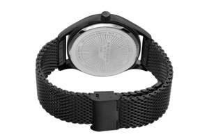 Чорний сталевий браслет ремінець Huawei на годинник Casio, Garmin,SMART