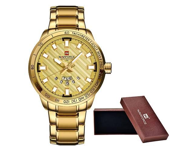 бу Чоловічі наручні годинники NAVIFORCE 9090 BLACK Водонепроникні 30М в Кривому Розі
