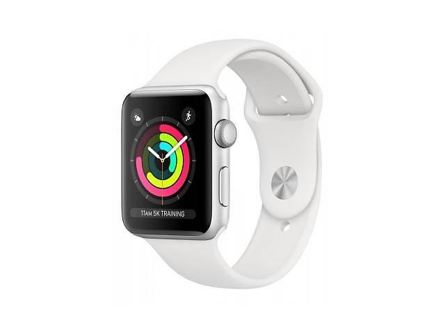 продам Смарт-часы Apple Watch Series3 GPS, 42mm Silver Aluminium Case (MTF22FS/A) бу в Киеве