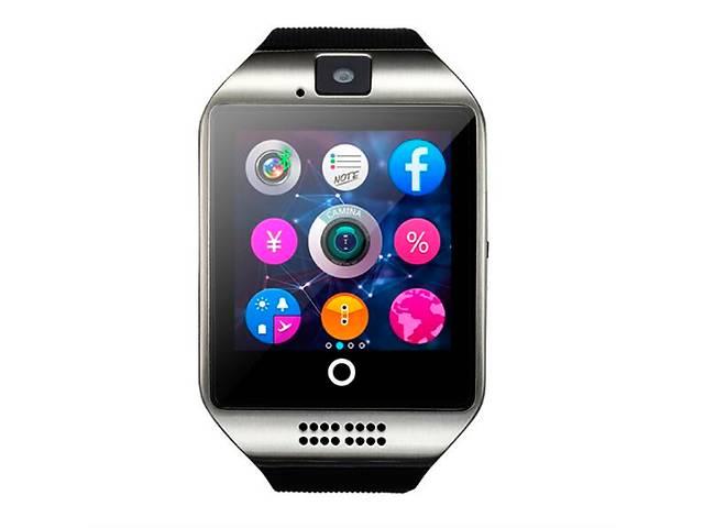 купить бу Умные часы UWatch 1144 Black в Киеве