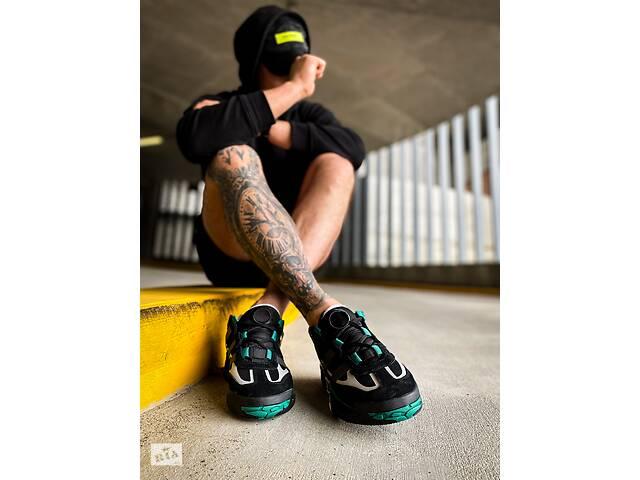 """купить бу Adidas Niteball """"Black/Sub/Green(Топ качество)  в Полтаве"""