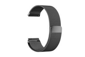 Ремешок для часов Melanese design bracelet Universal, 20 мм. Black