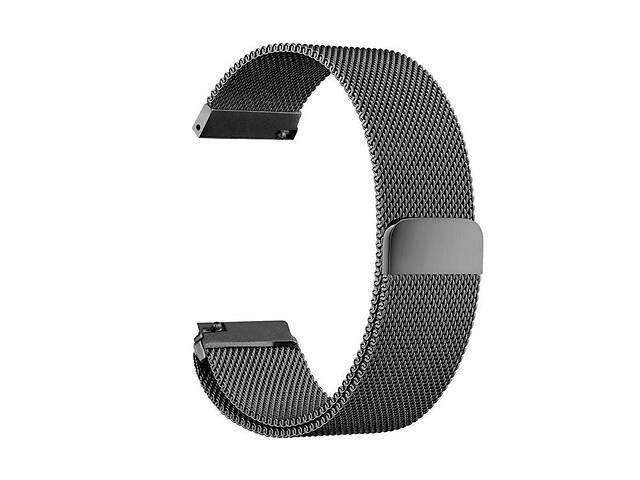 купить бу Ремешок для часов Melanese design bracelet Universal, 20 мм. Black в Запорожье