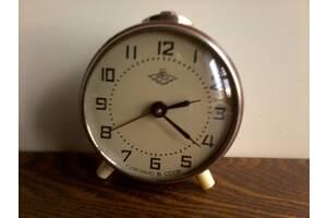 Антикварные часы – будильник «Б-84», РЧЗ, СССР, 1962 год. Редкий.