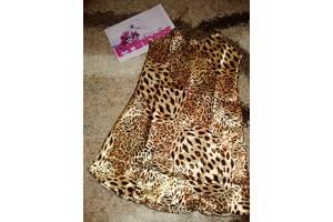 Атлассная ночнушка женская леопард