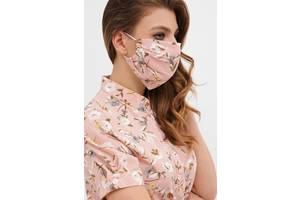 Багаторазове захисні, маски різного кольору.