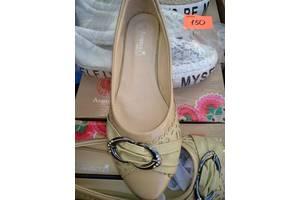Балетки туфли бежевые девочке
