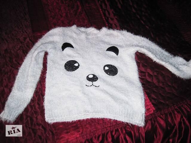 Белый свитер Панда- объявление о продаже  в Полтаве