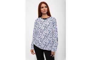 Блуза женская 115R031 цвет Бело-синий