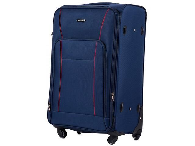 Большой чемодан тканевый Wings синий на 90л- объявление о продаже  в Киеве
