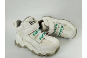 Бомбезные демисезонные ботинки кроссовки для девочки р. 27-32