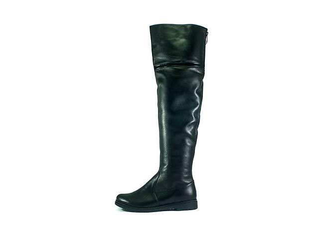 продам Ботфорти зимові жіночі ZARUI ZAR420 ЧК чорні (38) бу в Харкові