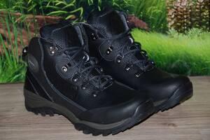 Ботинки зима кожа натуральная М25 качество ecco размеры 40 41 42 43 44 45