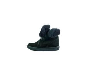 Ботинки зимние женские MIDA 24626-9Ш черные (36)
