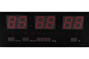 Часы настенные Kronos LED Number Clock 3615 Красные (gr_008427)