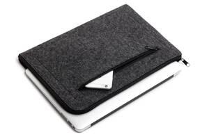 """Чехол для ноутбука Gmakin для Macbook Pro 13"""" Dark Grey (GM68-13New)"""