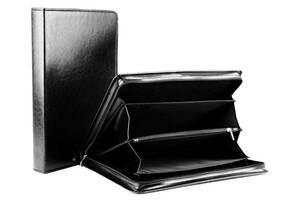 Деловая папка из искусственной кожи AMO SSBW03 черная