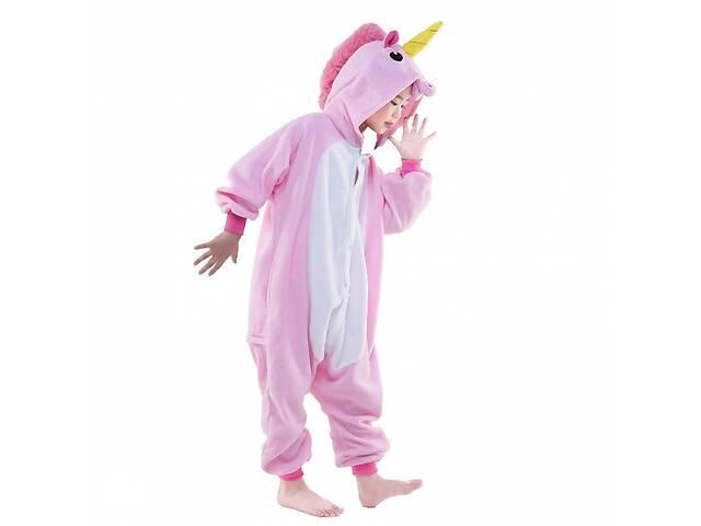 продам Детская пижама кигуруми Единорог (розовый) 140 см бу в Одессе