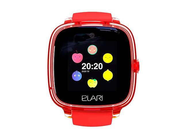 продам Детские смарт-часы Elari KidPhone Fresh Red с GPS-трекером (KP-F/Red) бу в Киеве