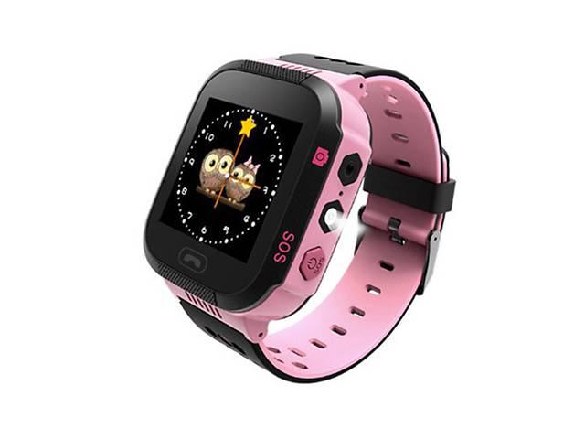 Детские умные Smart Watch KIDS Original GPS часы Pink (5205-OE)- объявление о продаже  в Киеве