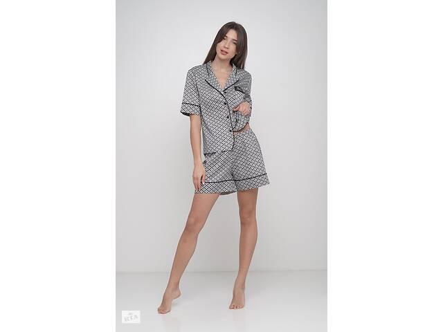 купить бу Домашний костюм женский MODENA DK161 S Серый в Києві