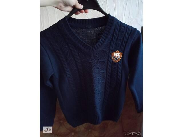 продам Детский темно-синий джемпер бу в Запорожье