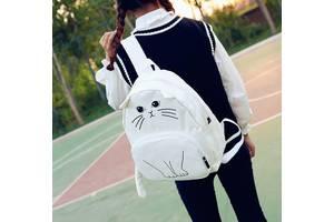 Эксклюзив, Молодежный рюкзак с уникальным принтом кота