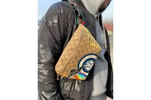 Gucci Belt Bag Par Amour GG Supreme Beige