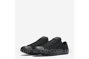 Кеди Converse All Star Low Black Monochrome M5039 моно короткі (36-44) NEW! Стильний Львів