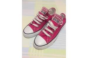 Кеды детские Converse All*Star для девочки размер 34 стелька 22.5 см