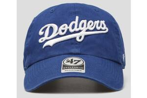 Кепка 47 Brand Script Clean Up Dodgers (B-RGWSC12GWS-RYA)