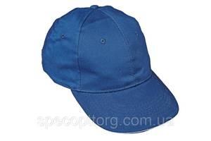 Кепка (бейсболка) хлопок Tulle 100% Сotton синяя