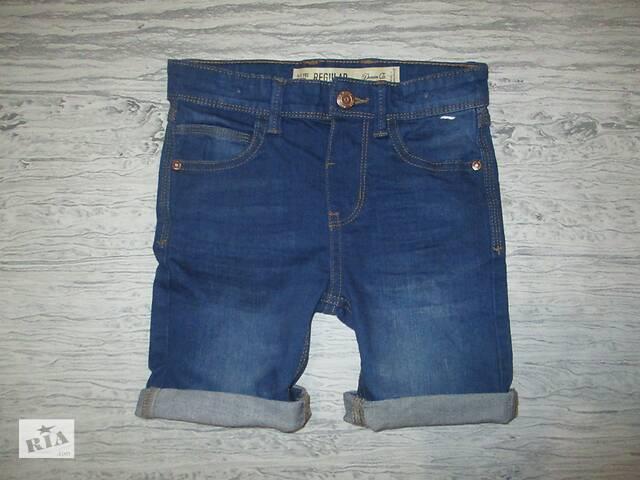 Хорошенькие джинсовые шортики фирмы Деним ко на 4-5 лет