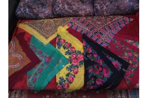 Платки женские японские и советские