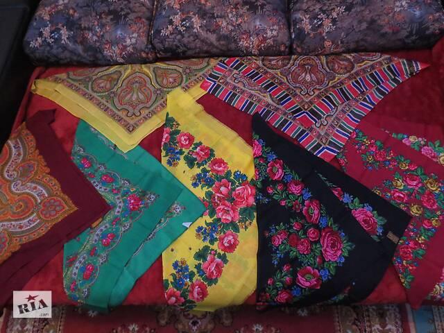 купить бу Платки женские японские и советские в Тернополе