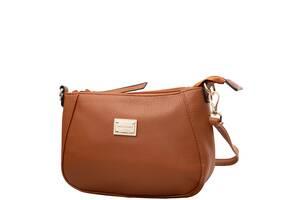 Клатч повсякденний Amelie Galanti Жіноча сумка-клатч із шкірозамінника AMELIE GALANTI A976116-l.brown
