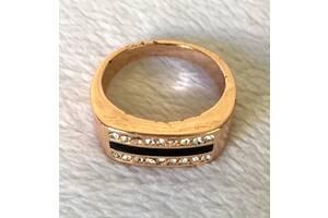 кольцо/перстень под золото, с камнями